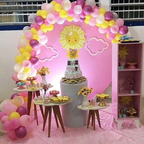 5 Festa Sunshine 40 Ideias Incriveis