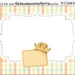 Aviso para Comida Kit Festa Junina Tons Pasteis