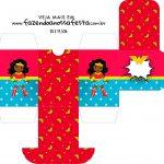 Caixa Baleiro Festa Mulher Maravilha Afro Cute