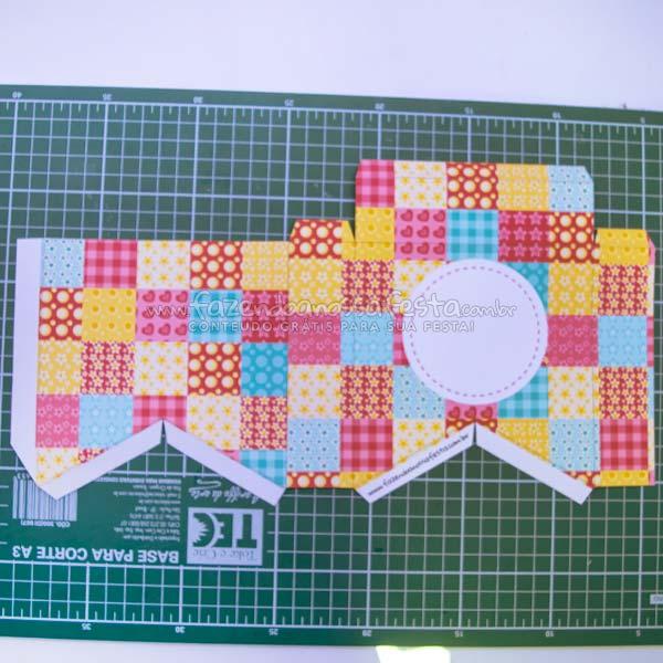 Caixa Bandeirola Montagem 2