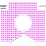 Caixa Bandeirola Xadrez rosa parte 1