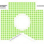 Caixa Bandeirola Xadrez verde parte 1