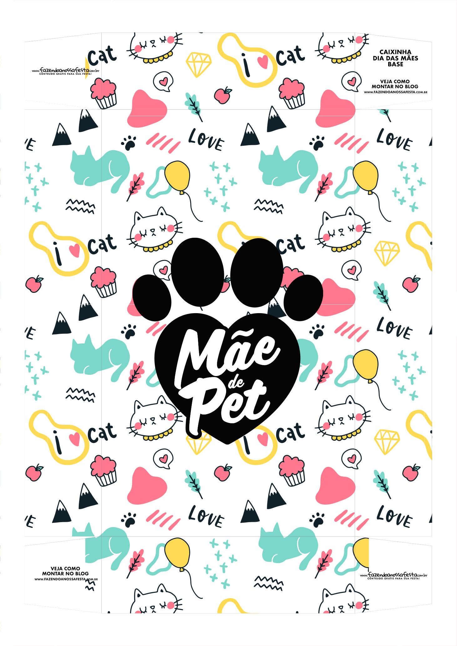 Caixa Mae de Gato 1 Base