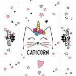 Caixa Mae de Gato Caticorn Tampa