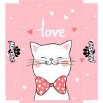 Caixa Mae de Cat Rosa Tampa