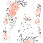 Caixinha Dia das Maes de Cat Floral Tampa