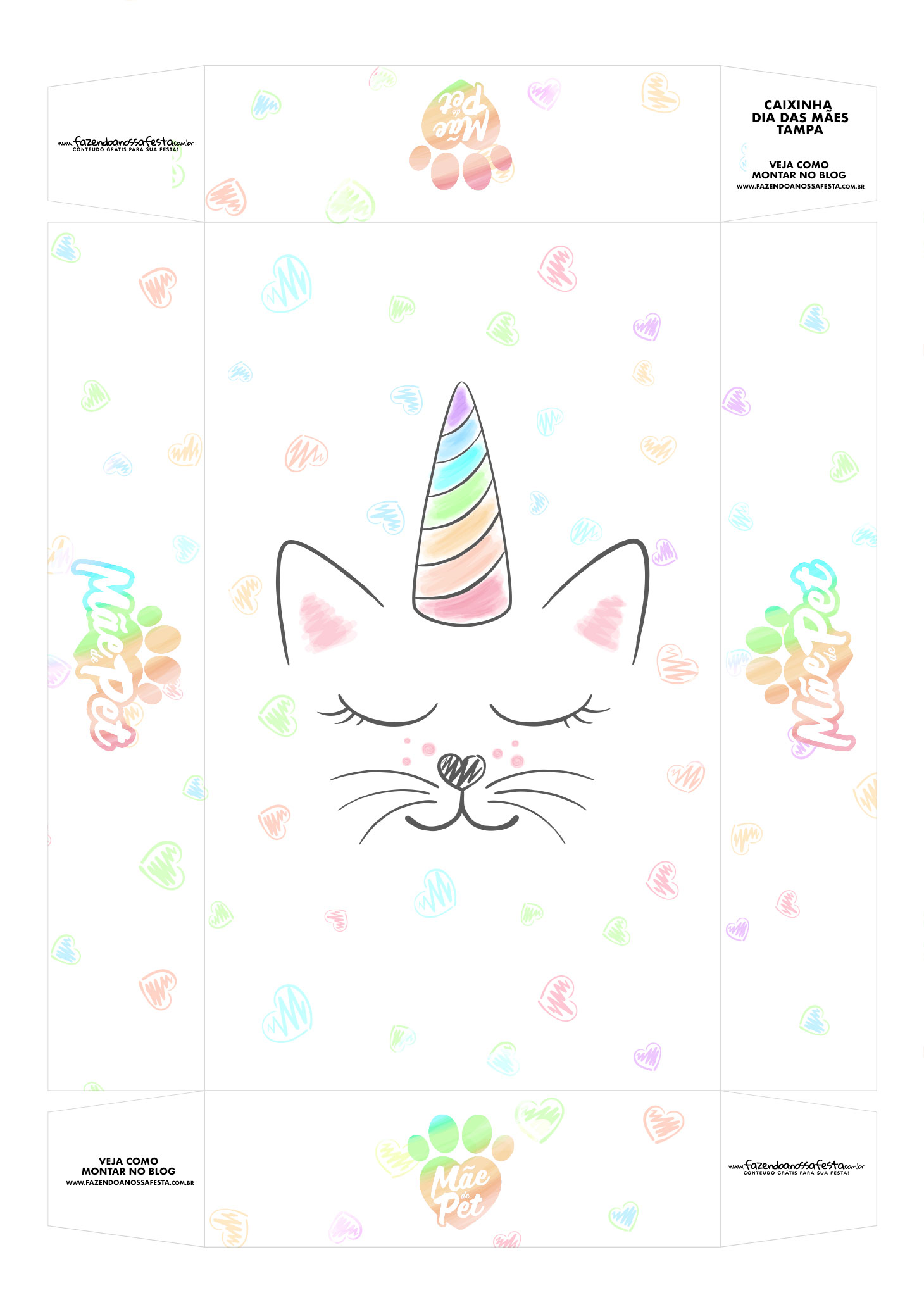 Caixinha Dia das Maes de Cat Tampa