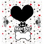 Caixinha Mae de Pet para Foto
