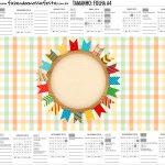 Calendario Personalizado 2019 Kit Festa Junina Tons Pasteis