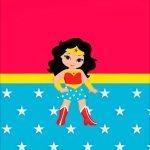 Printable Festa Mulher Maravilha cute