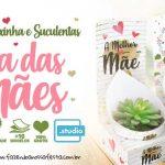 Suculenta Dia das Maes Molde gratis