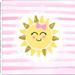 Caixa Acrilico 5x5 Festa Sunshine