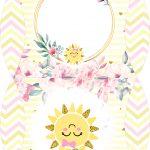 Caixa Almofada bolsinha Festa Sunshine