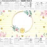 Calendario Personalizado 2019Festa Raio de Sol