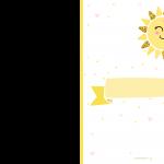 Convite Festa Raio de Sol 6