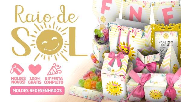 Kit Festa Raio de Sol para Imprimir