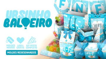 Kit Festa Ursinho Baloeiro