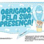 Plaquinhas Ursinho Baloeiro 05