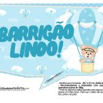 Plaquinhas Ursinho Baloeiro 08
