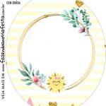 Rotulo Oval Festa Raio de Sol