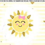 Saia Lateral de Bolo Kit Festa Raio de Sol