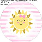adesivo mini baleiro Festa Sunshine