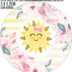 adesivo mini latinha Festa Sunshine