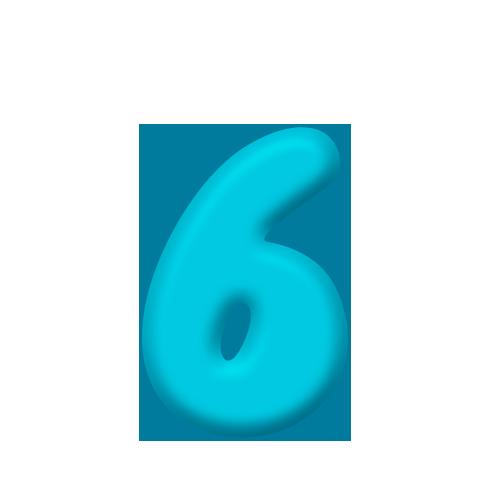6 simples Ursinho Baloeiro