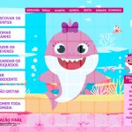 Quadro do Incentivo Baby Shark Rosa