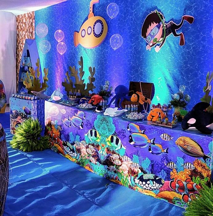 26 Ideias decoracao Fundo do Mar