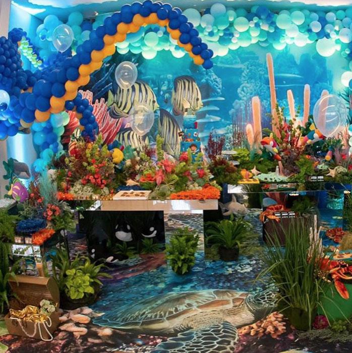 41 Ideias decoracao Fundo do Mar