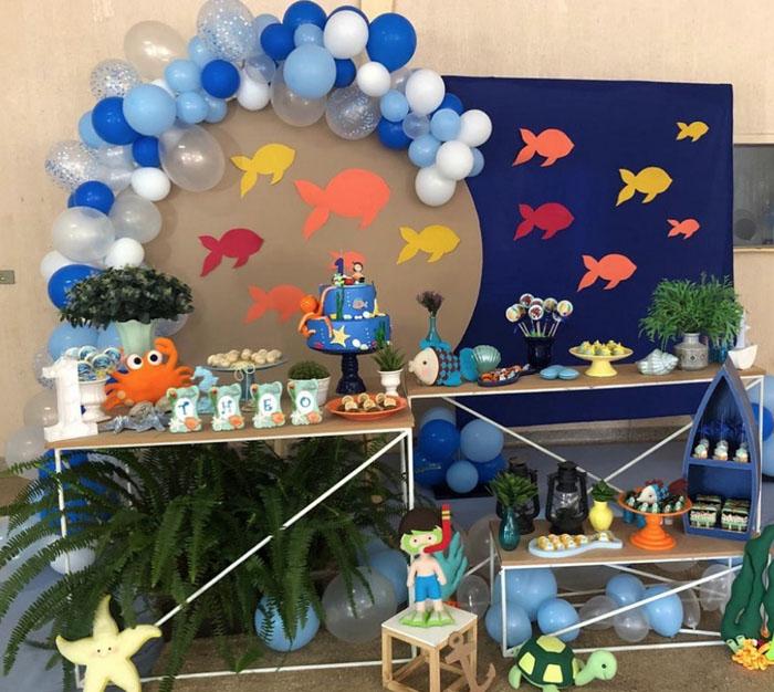 45 Ideias decoracao Fundo do Mar