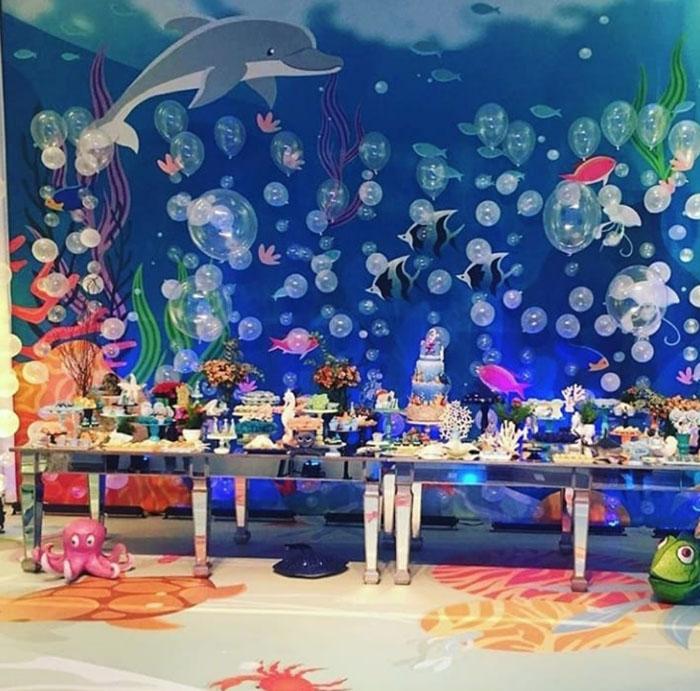 46 Ideias decoracao Fundo do Mar