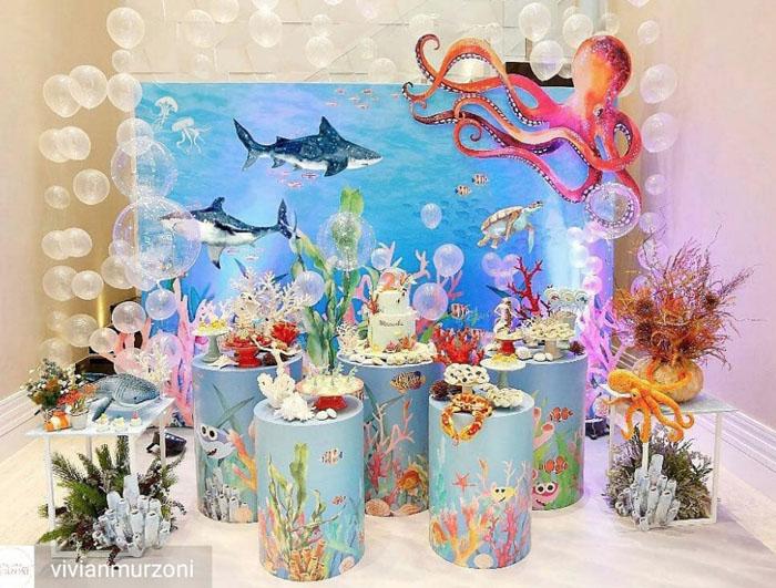 52 Ideias decoracao Fundo do Mar