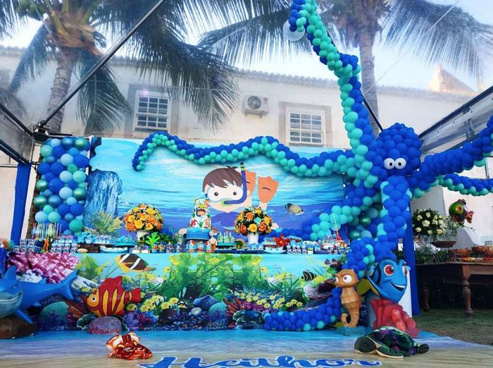 56 Ideias decoracao Fundo do Mar
