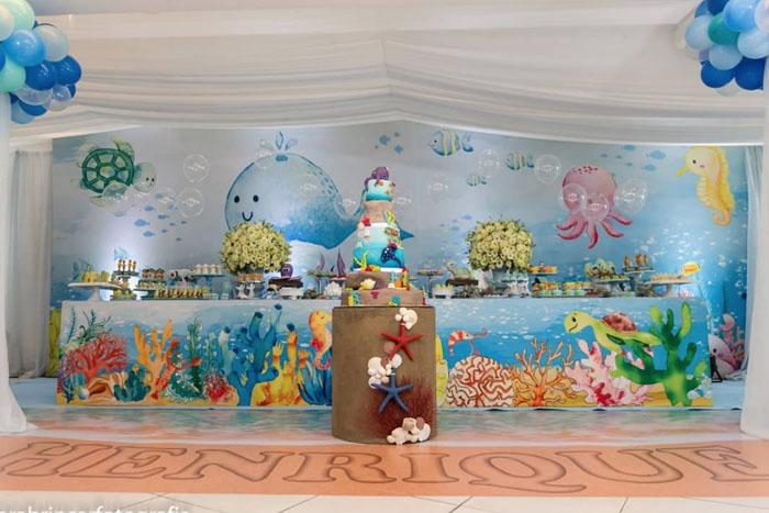 61 Ideias decoracao Fundo do Mar