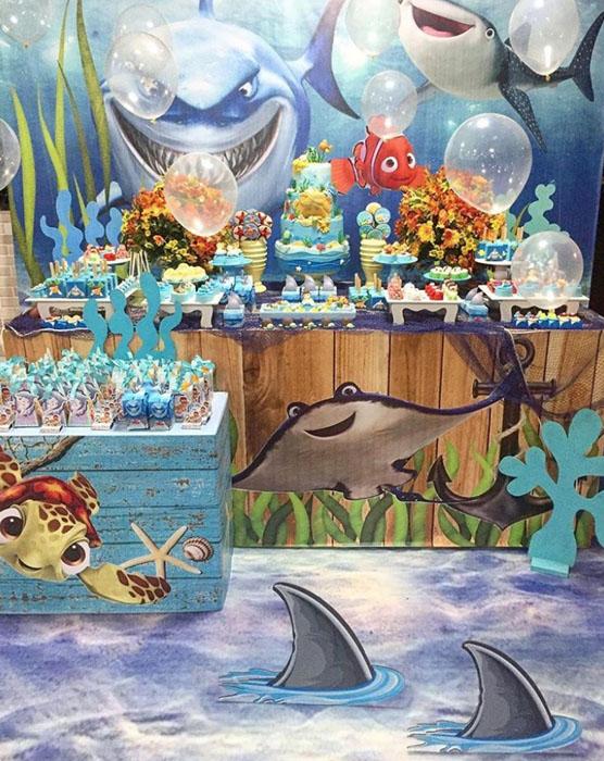 64 Ideias decoracao Fundo do Mar