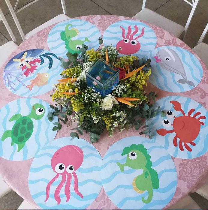 65 Ideias decoracao Fundo do Mar