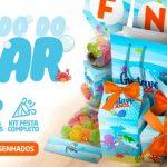 Kit Festa Fundo do Mar