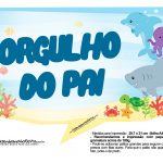 Plaquinha Fundo do Mar 26