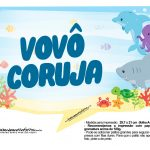 Plaquinhas Fundo do Mar 22