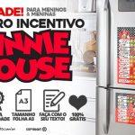 Quadro Incentivo Minnie Vermelha