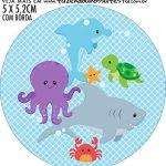 adesivo mini baleiro Fundo do Mar