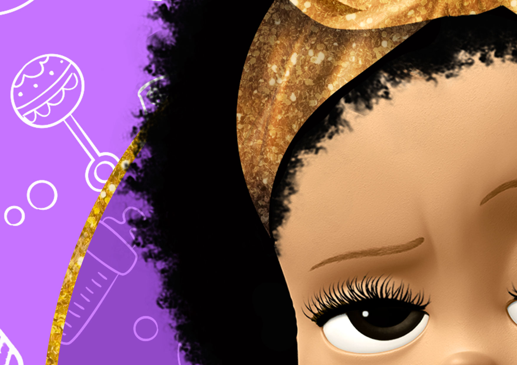 6 Painel Poderosa Chefinha Afro