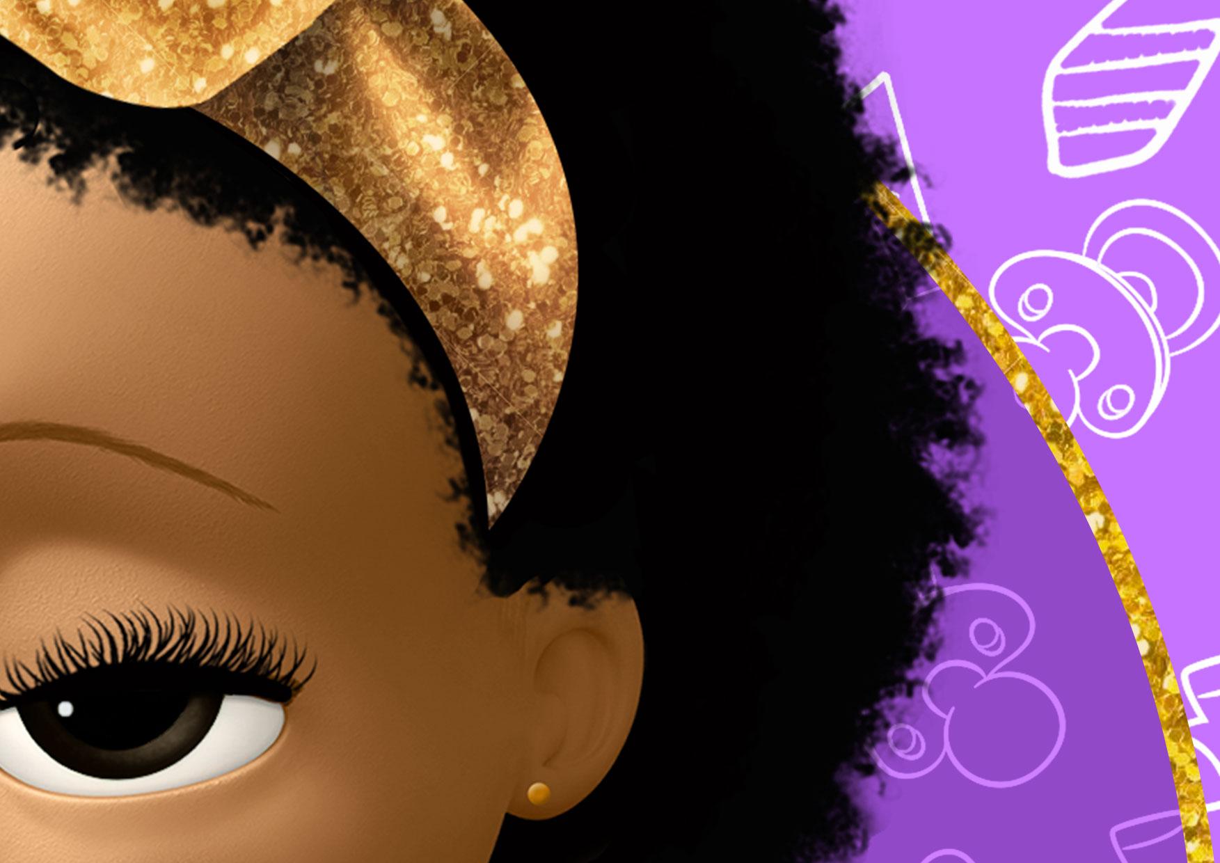 7 Painel Poderosa Chefinha Afro