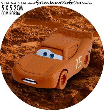 Adesivo para garrafinha Carros 3