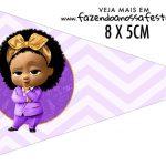 Bandeirinha Sanduiche para imprimir Poderosa Chefinha Afro