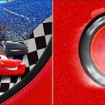 Bandeirinha de Dois Lados Carros 3