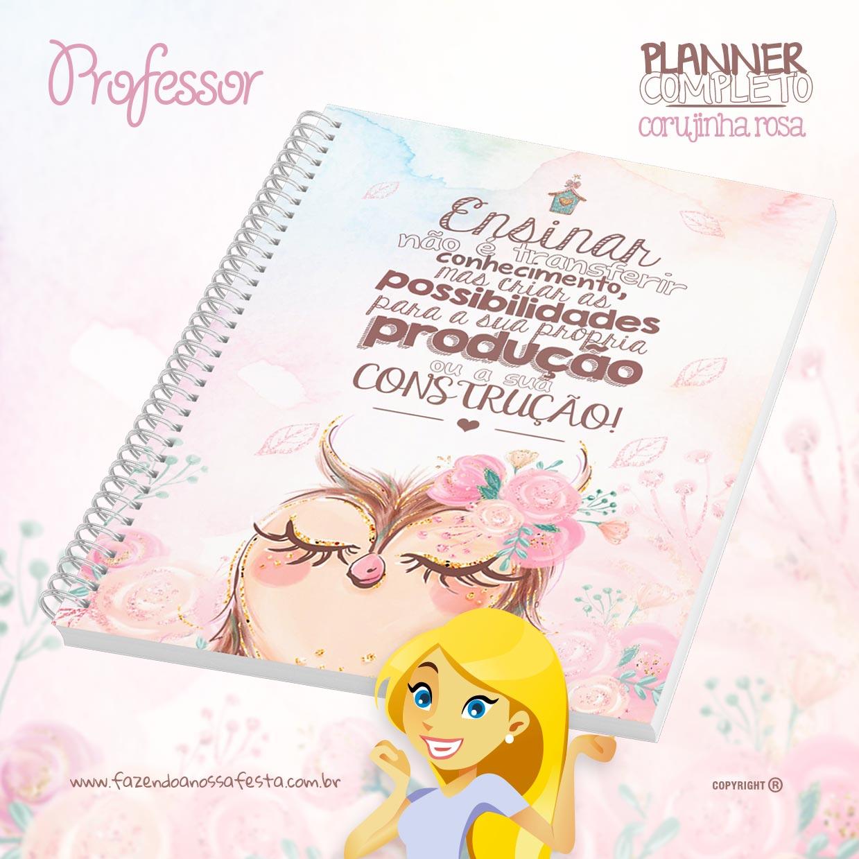 Caderno de Planejamento Corujinha para Professoras