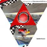Caixa Piramide Personalizada Carros 3